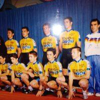 Imagen de Presentación del equipo Fiat Setamóvil Xàtiva de Cadetes – 1992