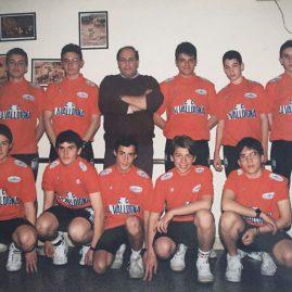 Presentación equipo cadete de la Peña Ciclista la Valldigna – 1993