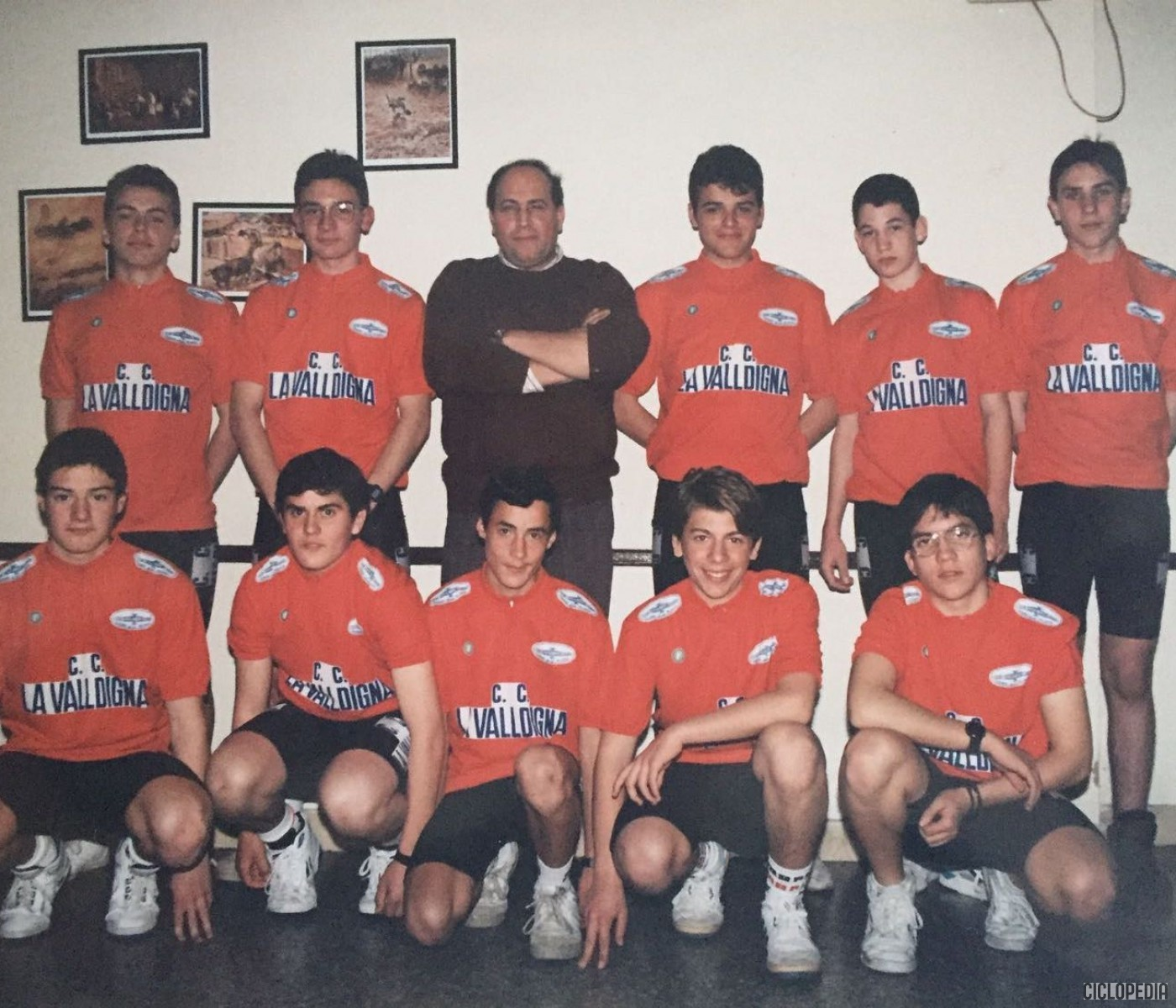 Imagen de Presentación equipo cadete de la Peña Ciclista la Valldigna – 1993
