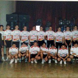 Presentación equipo MIVIS – Algemesí 1992