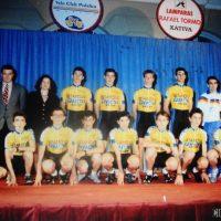 Presentación del equipo Fiat Setamóvil Xàtiva de Cadetes – 1992