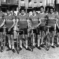 Salida en  carrera de La Bañeza (León) para juveniles – 1976