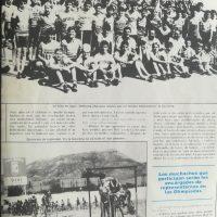 Séptimas jornadas de ciclismo infantil organizadas por la Federación Española de Ciclismo – Madrid, 1985
