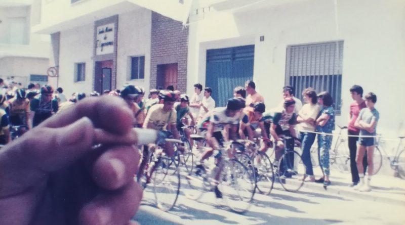 Imagen de Salida de carrera de infantiles en Xeraco (no estamos seguros) – 1985