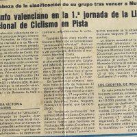 Liga Nacional de Ciclismo en Pista – 1987