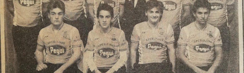 Imagen de Presentación del equipo junvenil Pegui – Ruipérez  del B.C. Paiporta – 1987
