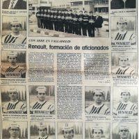 Equipo Renault de aficionados, Valladolid 1987