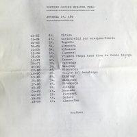 Imagen de Memoria del equipo Juan Giner (PC Ciclista Pinedo, Valencia) del año 1988