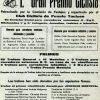 Carteles de carreras en Murcia en 1977
