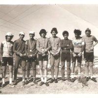 Clasificación de la contrarreloj en Lorca de categoría cadete – 1975
