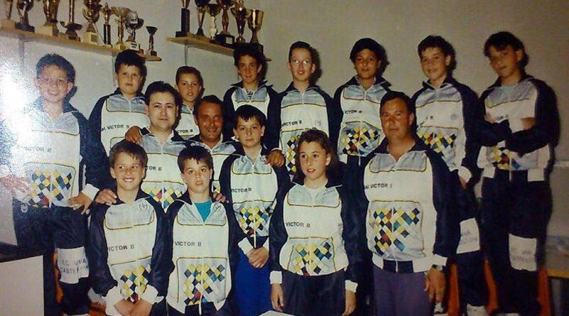 Imagen de Equipo infantil Club Ciclista Vilanova de Castelló (Valencia) – 1991