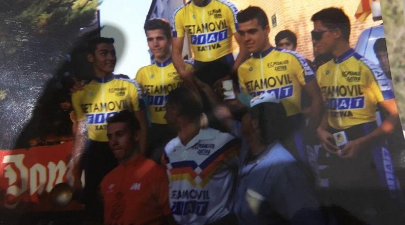 Imagen de Vuelta al Bajo Aragón de categoría cadetes – 1993
