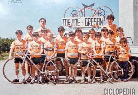 Imagen de Escuela ciclista de Sueca – 1986