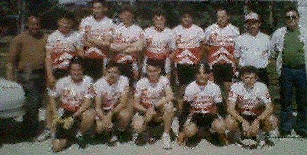 Imagen de Equipo de juveniles del Club Ciclista Vilanova de Castelló | Citroën – 1994