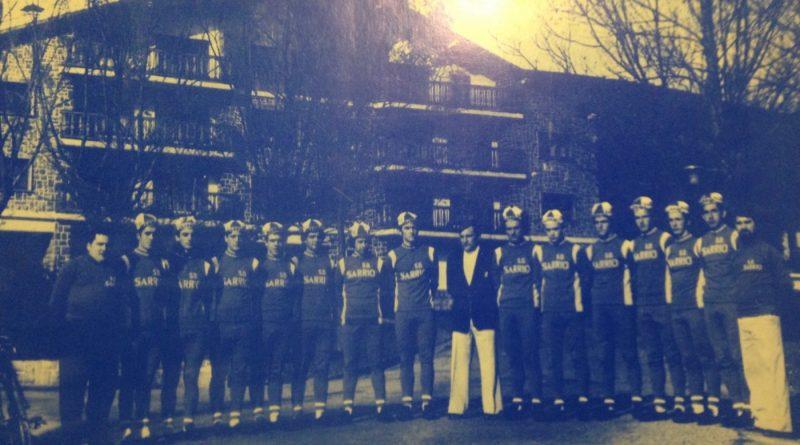 Imagen de Equipo ciclista Sarrió 1977 – Cadetes