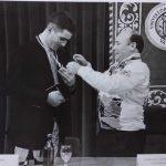 Medalla de la UPV a Miguel Indurain - 1996