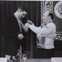 Medalla de la UPV a Miguel Indurain – 1996