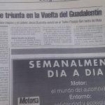 Vuelta del Guadalentín para juveniles - Lorca (Murcia) 1998