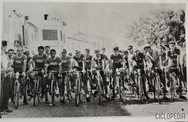 Imagen de Equipo Ossa de Xeresa (Valencia), 1960