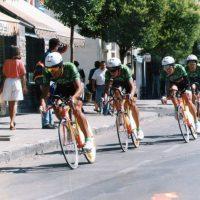 Imagen de Campeonato de España 1994 en Sabiñánigo (juveniles) – Contrarreloj por equipos