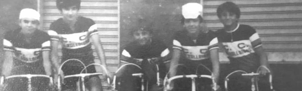 Imagen de CC La Valldigna – ciclistas de la escuela 1980-81