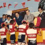 Contrarreloj por equipos del Campeonato de España junior - Aranjuez (Madrid) 1976