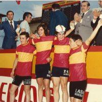 Imagen de Contrarreloj por equipos del Campeonato de España junior – Aranjuez (Madrid) 1976