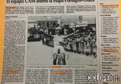 Imagen de Vuelta Ciclista a Granada – etapa Otura 1990