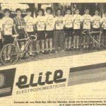 Imagen de Equipo juvenil Club Ciclista San Marcelino – Elite Electrodomésticos (Valencia)