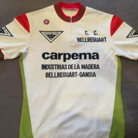 Equipo de categoría juvenil Carpema – CC Bellreguart (Valencia) 1988