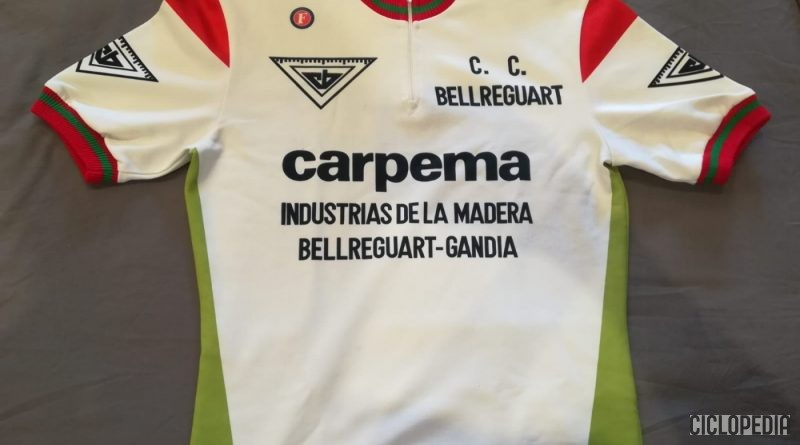 Imagen de Equipo de categoría juvenil Carpema – CC Bellreguart (Valencia) 1988