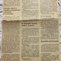 Cadetes en Albaida (Valencia) – 1992