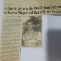 Trofeo Virgen del Rosario para juveniles en Sedaví (Valencia) – 1993