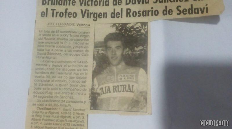 Imagen de Trofeo Virgen del Rosario para juveniles en Sedaví (Valencia) – 1993
