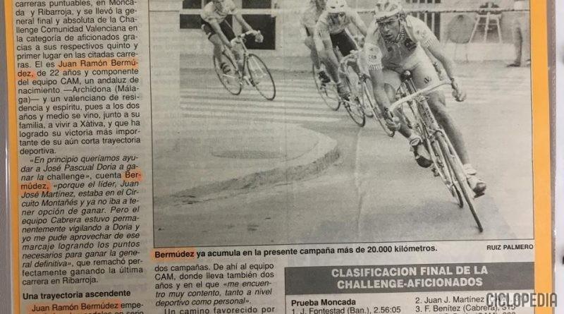 Imagen de Challenge de la Comunidad Valenciana para aficionados 1991
