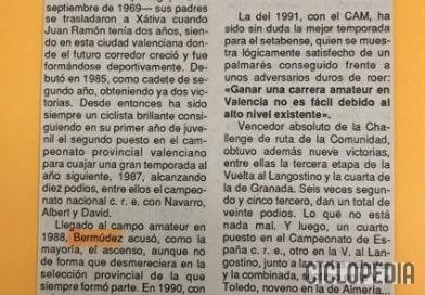 Imagen de Entrevista a Juan Bermúdez 'El Gitano' en 1991