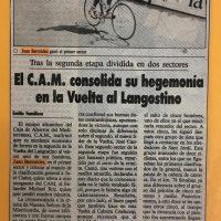 XVIII Vuelta al Langostino para aficionados, Vinaroz (Castellón) – 1991