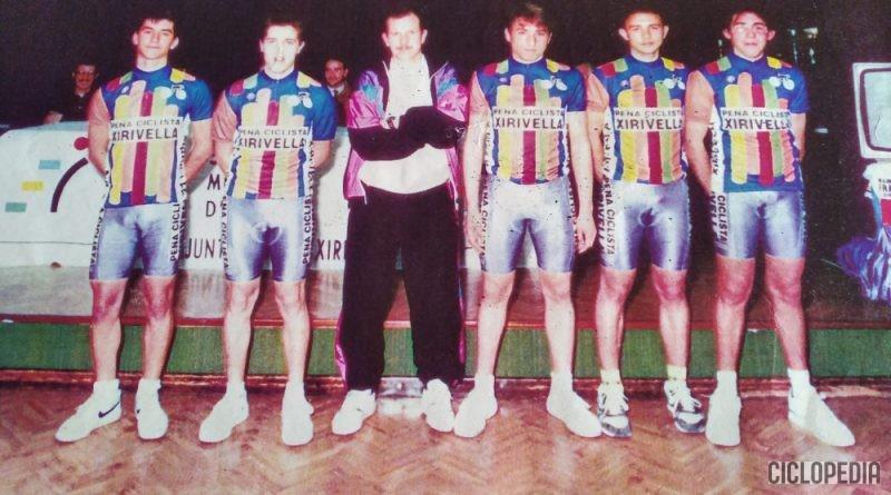 Imagen de Foto del equipo juvenil de 2°año de la Peña ciclista XIRIVELLA (Valencia) – 1992