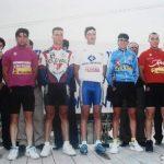 Etapa en Otinyent de la Volta a la Vall d'Albaida (Valencia) para juveniles - 1995