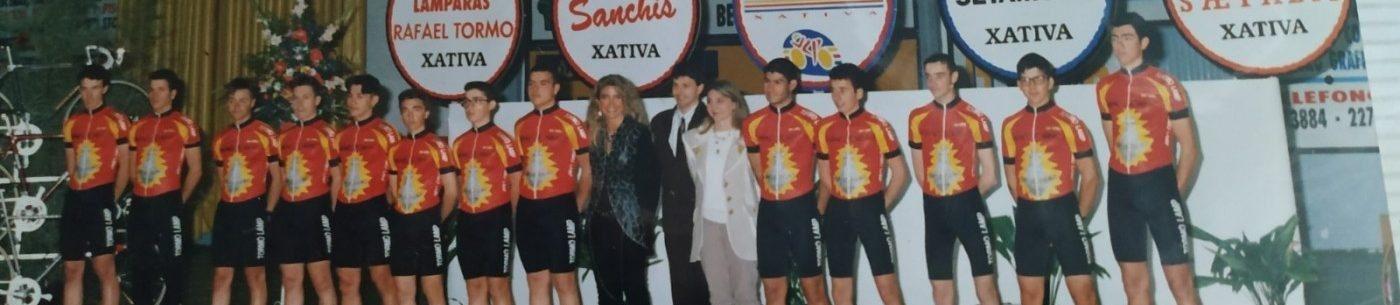 Imagen de Presentación de los equipos ciclistas del Velo Club Pedalier de Xàtiva (Valencia) – 1995
