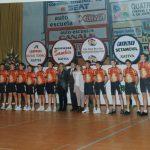 Presentación de los equipos ciclistas del Velo Club Pedalier de Xàtiva (Valencia) - 1995