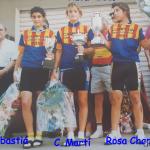 Campeonato Comunidad Valenciana para féminas de cadetes, juveniles y aficionadas - 1991