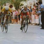 Etapa en Burjassot (Valencia) de categoría aficionados - 1993