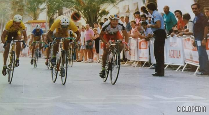 Imagen de Etapa en Burjassot (Valencia) de categoría aficionados – 1993