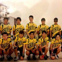 Equipo Caja Rural Navarra del Club Ciclista Peraltés para Cadetes- 1993