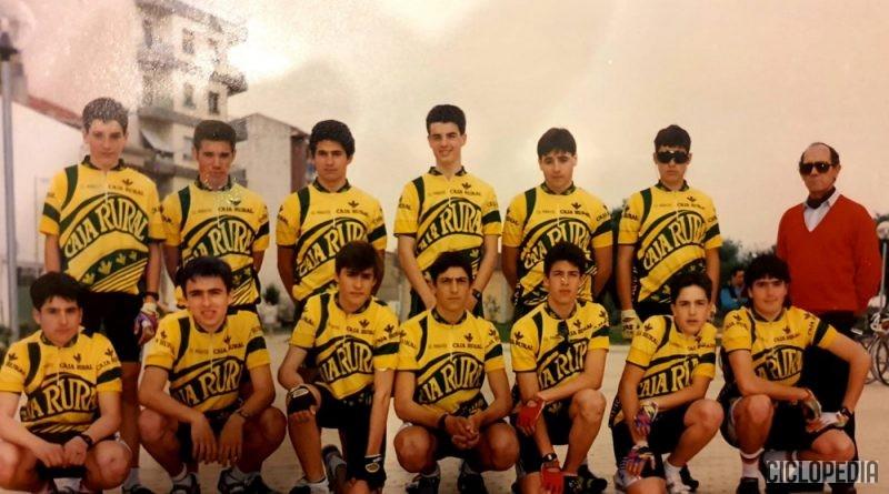 Imagen de Equipo Caja Rural Navarra del Club Ciclista Peraltés para Cadetes- 1993