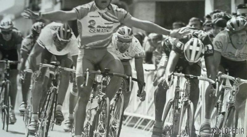 Imagen de 2ª Etapa de la Vuelta de la Ribera para amateurs en Alginet (Valencia) – 1995