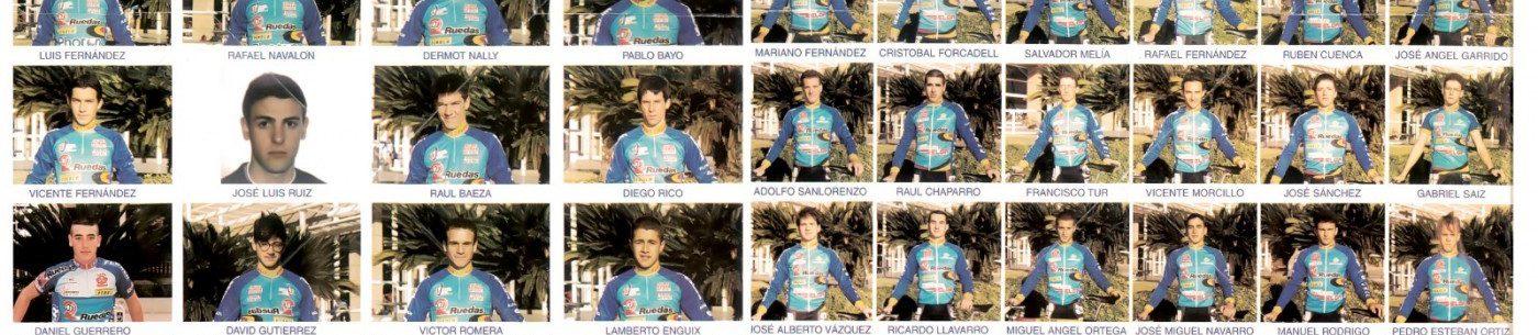 Imagen de Presentación de los equipos juvenil y sub-23 de Feria Valencia 2 Ruedas – 1998