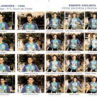 Presentación de los equipos juvenil y sub-23 de Feria Valencia 2 Ruedas – 1998