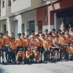 Presentación de la Escola Ciclista de Sueca (Valencia) del año 1988
